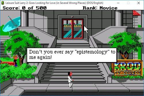 "Don't yo ever say ""epistemology"" to me again!"