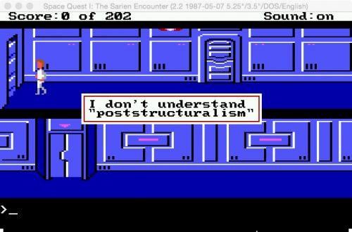 "I don't understand ""Poststructuralism""."