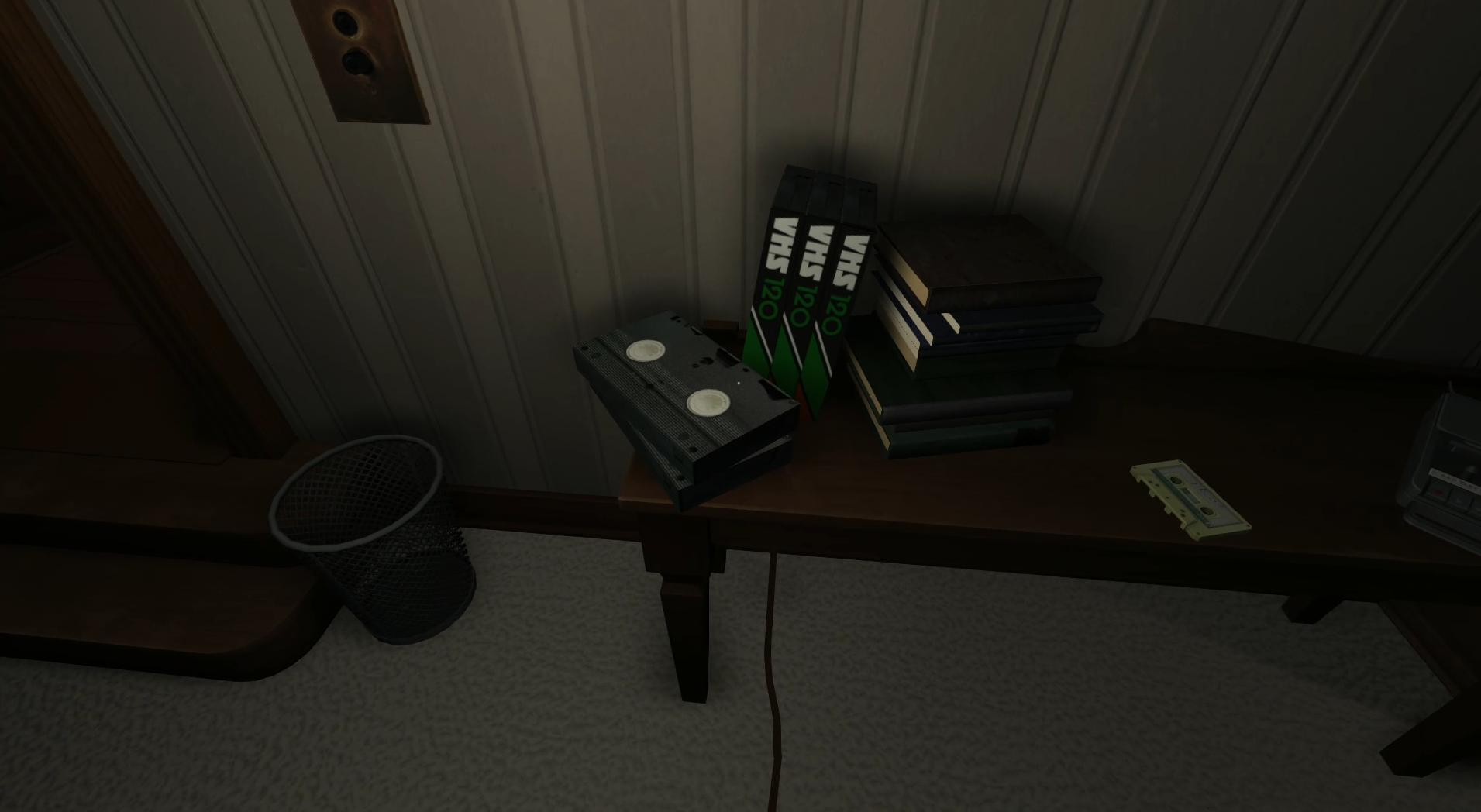 Screenshot aus Gone Home (erstellt von Felix Zimmermann)