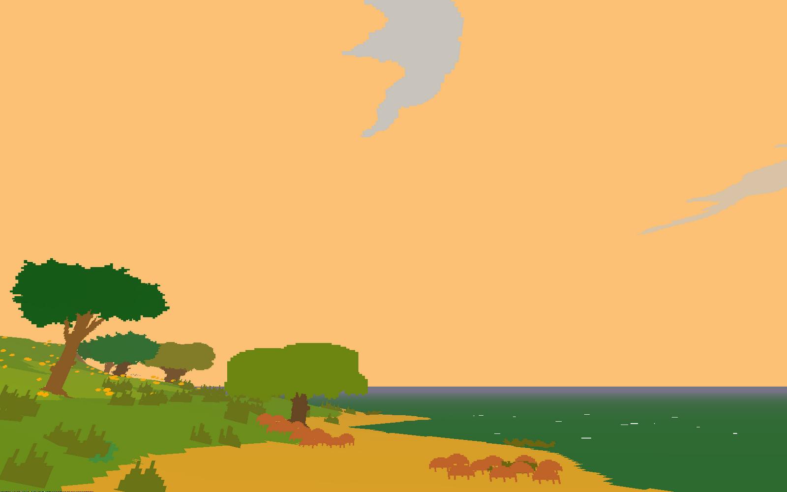 Screenshot aus Proteus (Erstellt von Christian Huberts)