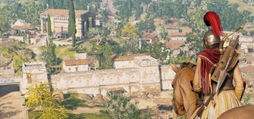 Assassins Creed Odyssey bunte Antike Ausschnitt Teaser