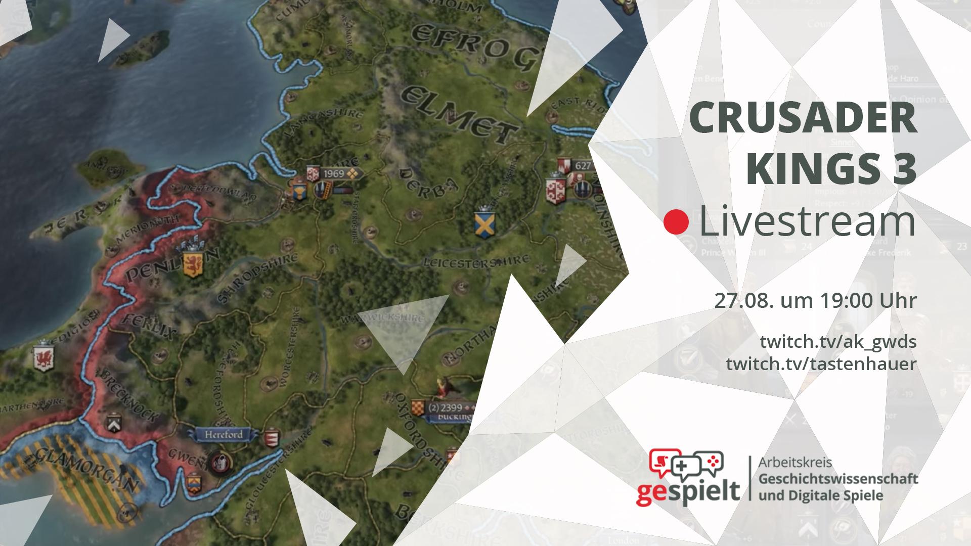 Das Stream-Thumbnail zu Crusader Kings 3